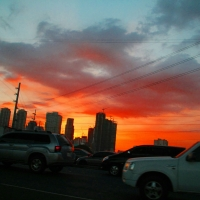 The Urban Sunset... A Luxury in the City!