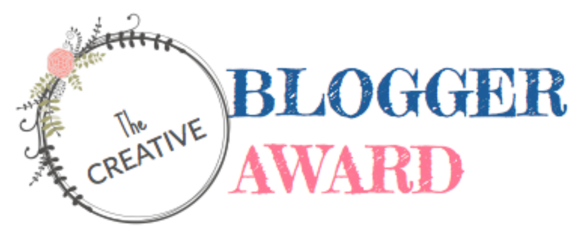 Creative Blogger Award with 5 Random Facts About Me
