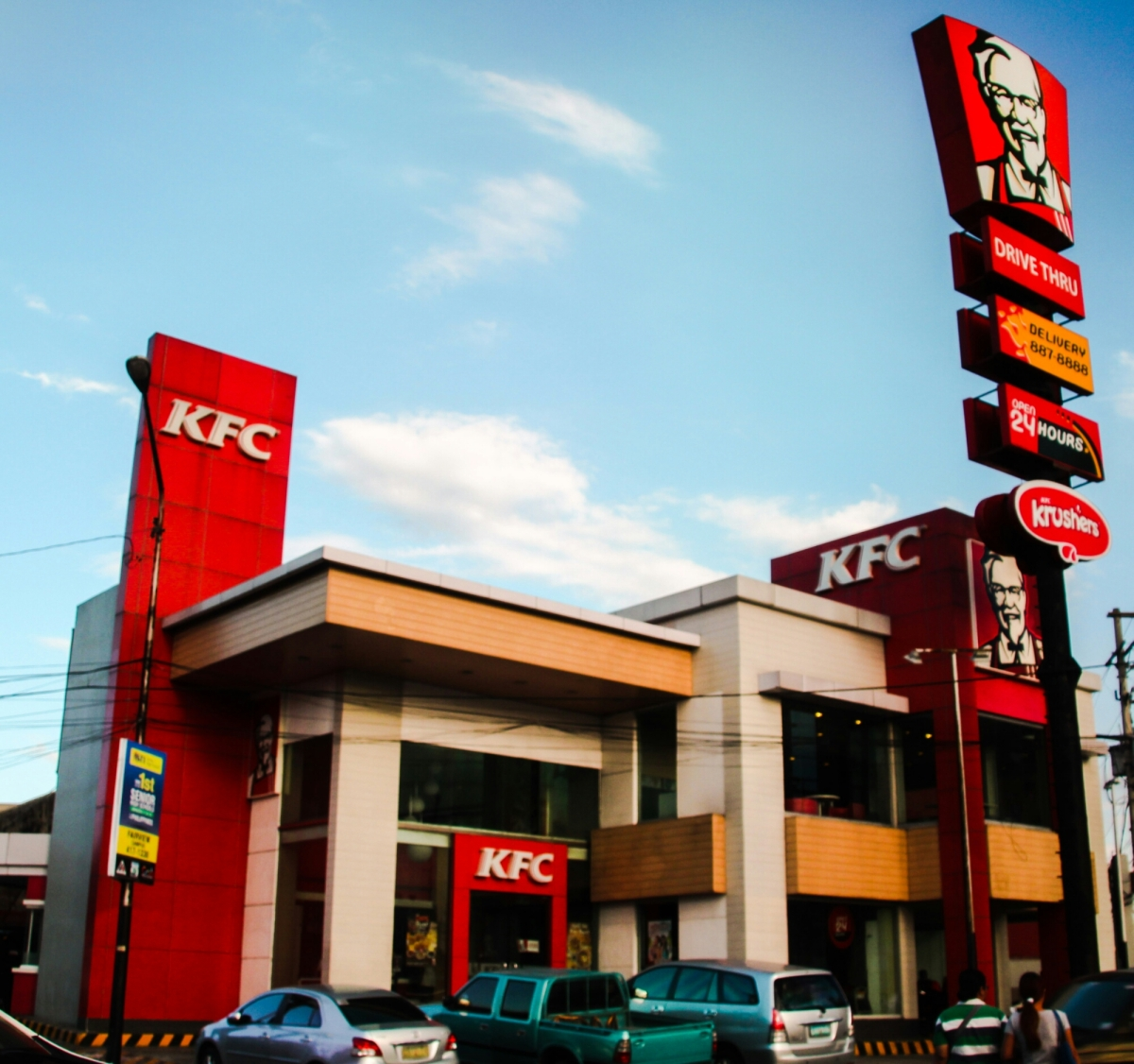 Kentucky Fried Chicken... In the Philippines