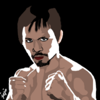 My Artwork of Manny Pacquiao: The People's Champ