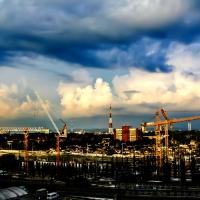 The Dusk Under Construction...! (Multiple Photos)