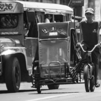 "Pinoy Style: ""Ang Traysikad"" (The Bicycle Rickshaw)"