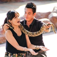 I hate snakes... No, I love snakes!