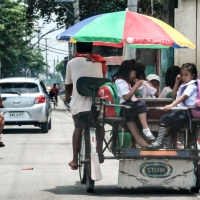What a School Bus Looks Like in Third World Country Like the Philippines...!