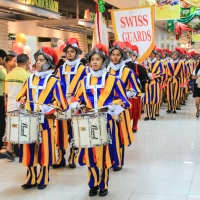 Vatican Swiss Guards in Manila...
