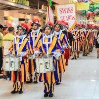 Vatican Swiss Guards in Manila...
