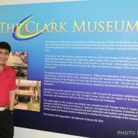 Me at Clark Museum...
