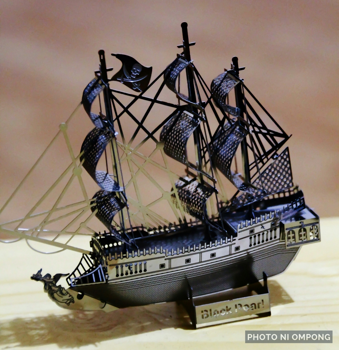 My Own Black Pearl Ship...!